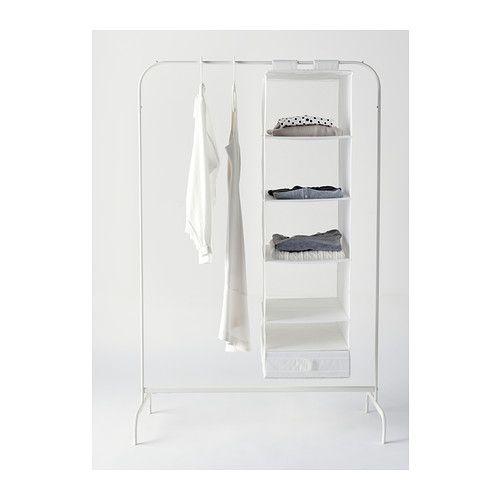 MULIG Clothes rack - white - IKEA