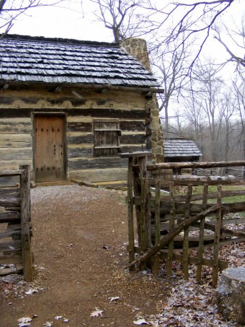 *ABRAHAM LINCOLN's ~ boyhood home, Pigeon Fork, Indiana