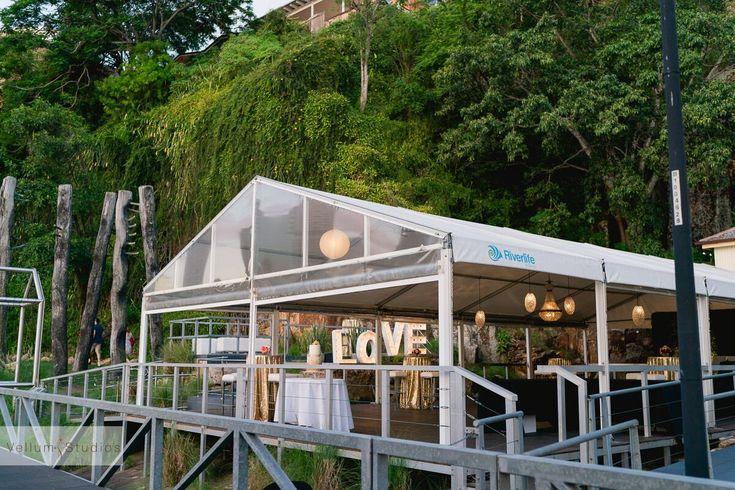Riverlife Weddings Brisbane.  On the river