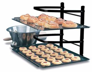 A cooling rack with ADJUSTABLE shelves... a great gift idea for the baker who has everything!