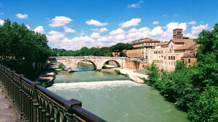 River Tiber, Rome ITALY