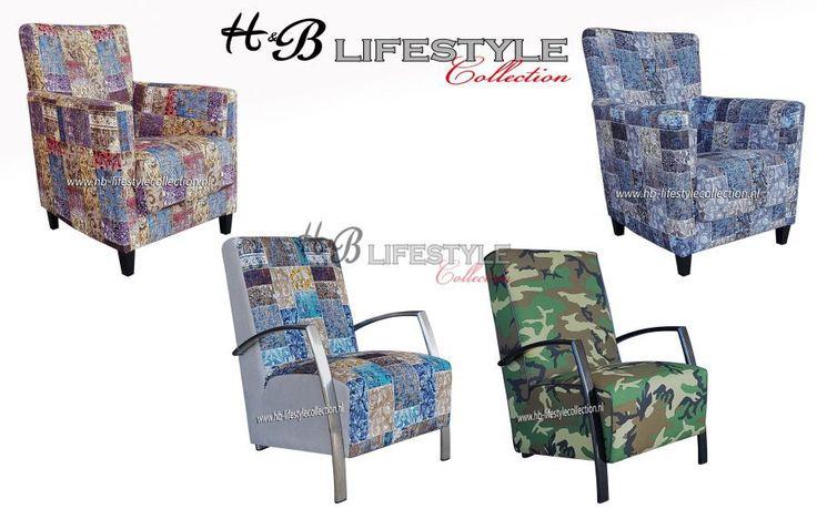 Kleurrijke fauteuils - HB Lifestyle Collection