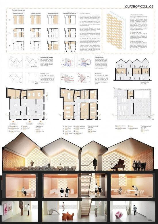 Best Architecture Presentation Images On Pinterest