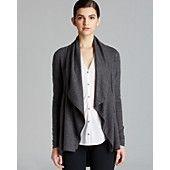 Helmut Lang Sweater - Sonar Wool Shawl Collar