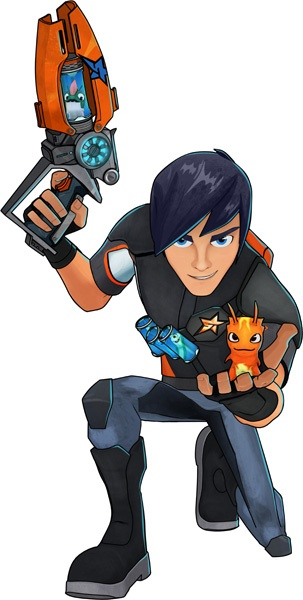 Since I've realized I will never get to use all my Disney princess knowledge on a little girl I've got to get updated on little boy stuff. I now am pretty much an expert in slugterra