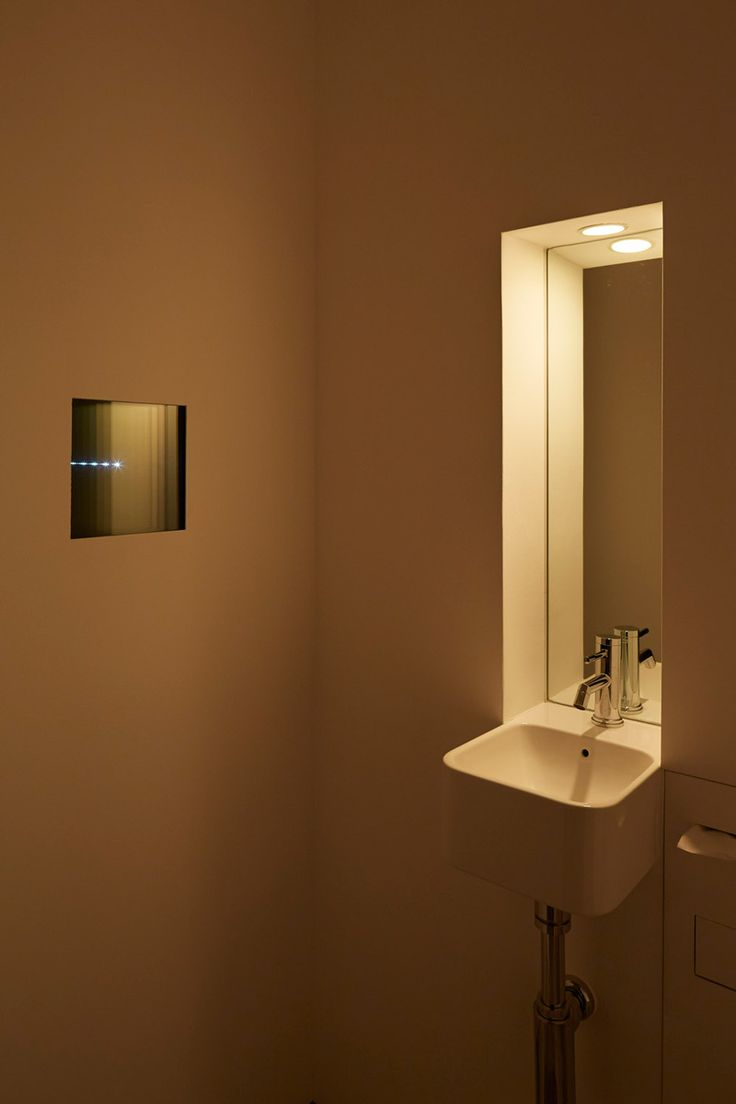 Bathroom occupied light - Suppose Design Office Adds Spotlit Stage To Sushi Restaurant