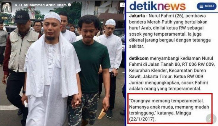 Kepulangan Nurul Fahmi Disambut Gembira Warga Diumumkan Pengeras Suara Masjid, Membantah Detikcom