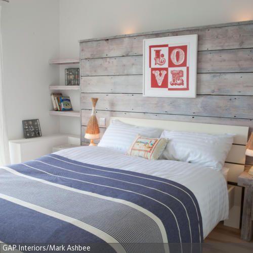 fr den beliebten landhausstil im schlafzimmer reicht bereits eine konstruktion aus lasierten holzplanken die man - Liebenswurdig Grunes Schlafzimmer Ausfuhrung