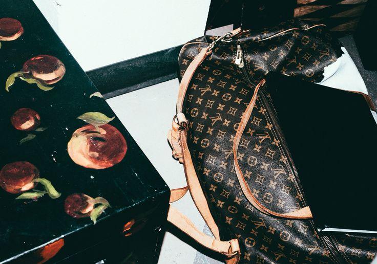 Louis Vuitton #fashion #style #handbag #dufflebag