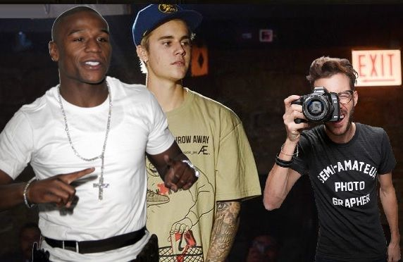 "Floyd Mayweather is clearly in  Justin Bieber's  corner after his hotel lobby bout Wednesday night. According to Mayweather, Bieber ""showed he ain't no bitch."" Bieber and Mayweather are tight and he's been training with the boxing legend for years. According to the celebrity gossip website, TMZ.com, Mayweather, the most impressive part of the fight video"