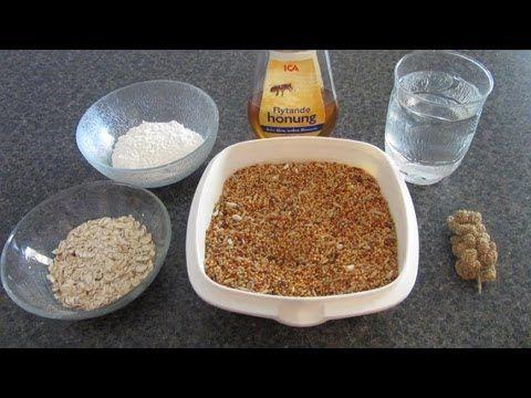 ▶ How To Make HEALTHY Homemade Bird Treats! - YouTube
