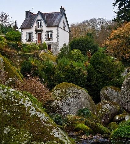 Paisages de Bretagne, Huelgoat, France