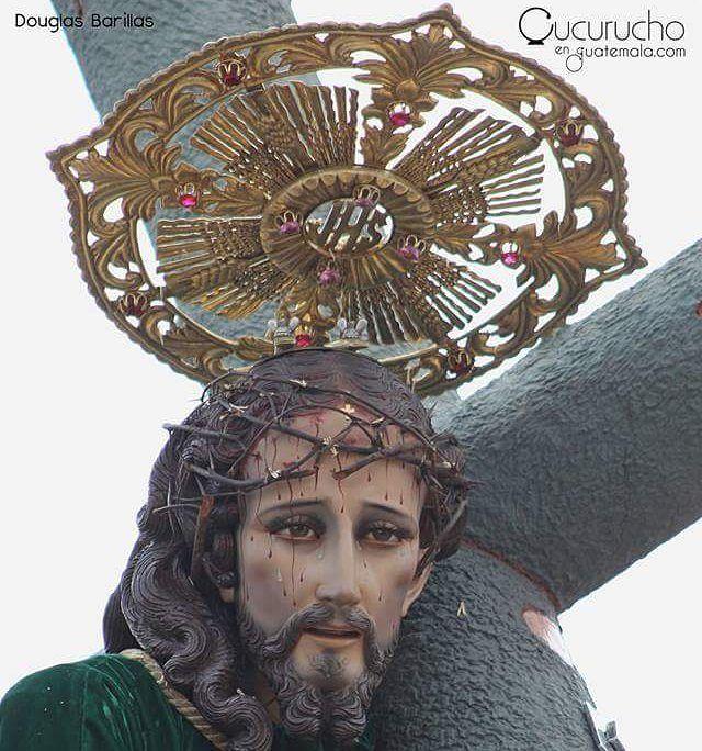El #PatronJurado de la Ciudad de #Quetzaltenango Jesús Nazareno de San Juan de Dios.  #ElCanchito #cucuruchoenguatemala #devocion