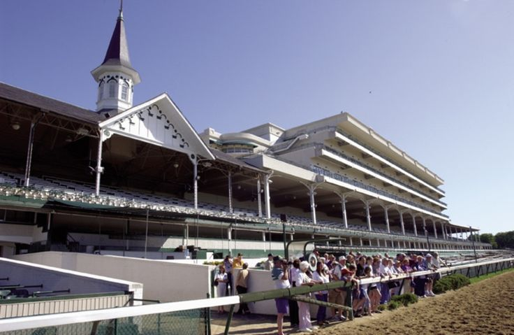 Churchill Downs, located on Central Avenue in south Louisville, Kentucky, United States, is a Thoroughbred racetrack most famous for hosting the Kentucky Derby annually.
