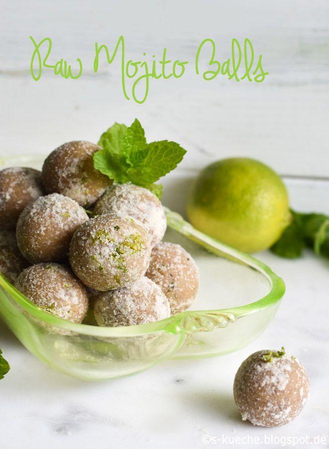 Raw Mojito Balls  Mojito Energie Bällchen