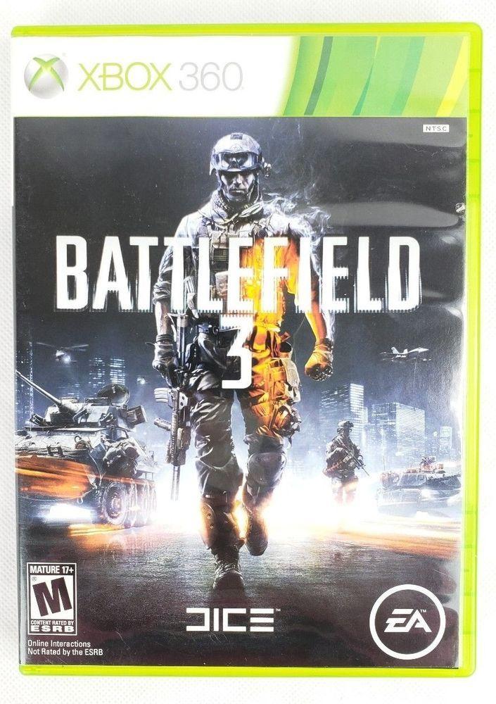 Xbox 360 Battlefield 3 Video Game 2 Disc Game Microsoftstudios
