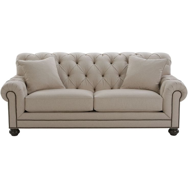 ethan allen sofas in living room | Chadwick Sofa, Caron/ Linen - Ethan Allen US - for the ...