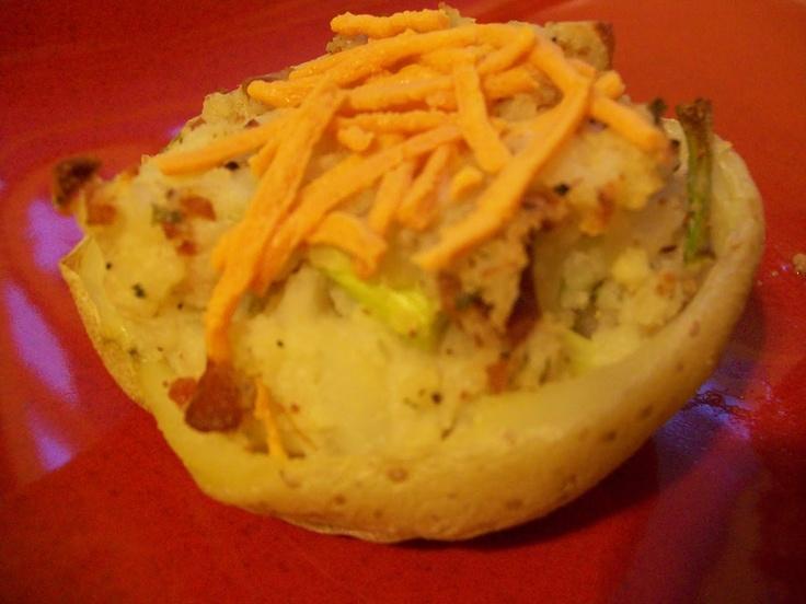 Sandi's Allergy Free Recipes: Twice Baked Potatoes ( Dairy Free)