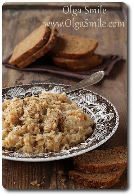 Kapusta z grochem wigilijna - przepis   Kulinarne przepisy Olgi Smile