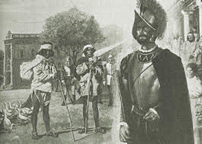 Soldado espanhol teria aparecido em outra cidade há mais de 9 mil milhas náuticas de distância.