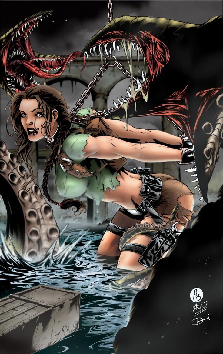 Erotic laura croft interactive fiction