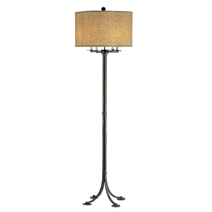 Poston floor lamp by currey