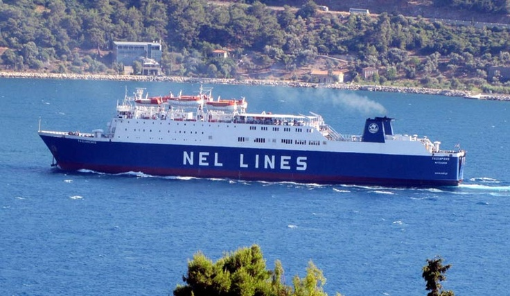Greek ferry operator NEL Lines published May / June 2013 ferry schedules