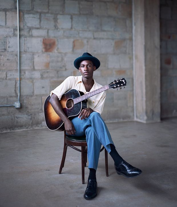 Coming home with Leon Bridges: soul's new star on success, anxiety and denim - Telegraph