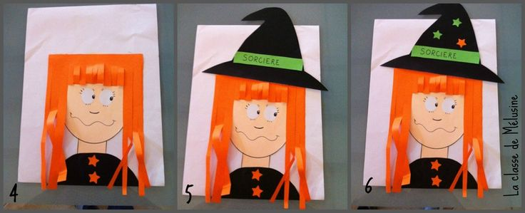 Portraits de sorcières - la classe de Mélusine