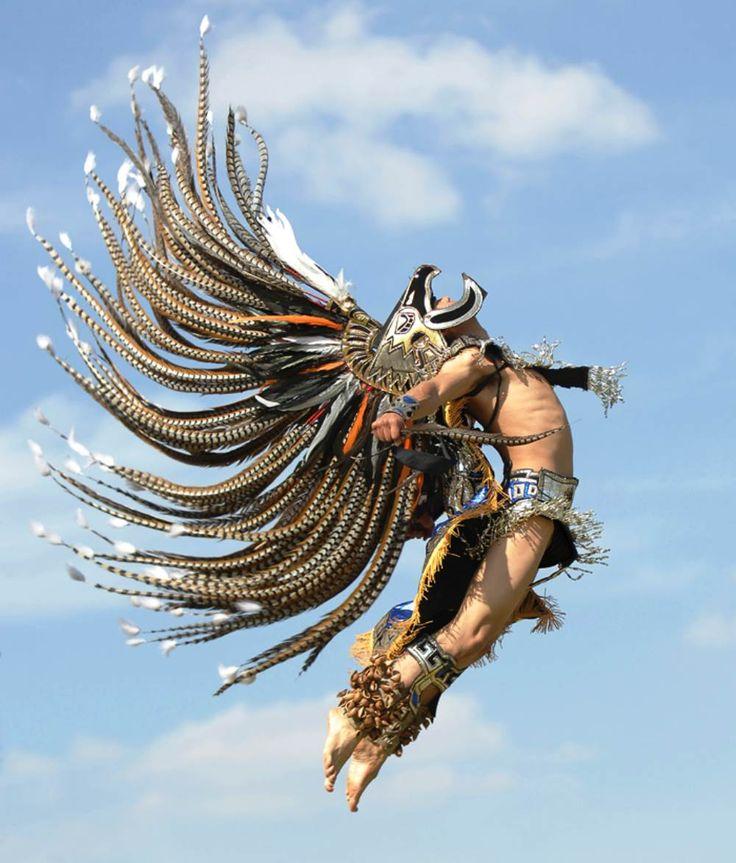 Aztec Warrior  http://cdn.all-that-is-interesting.com/wordpress/wp-content/uploads/2012/12/aztec-warrior-jump.jpg