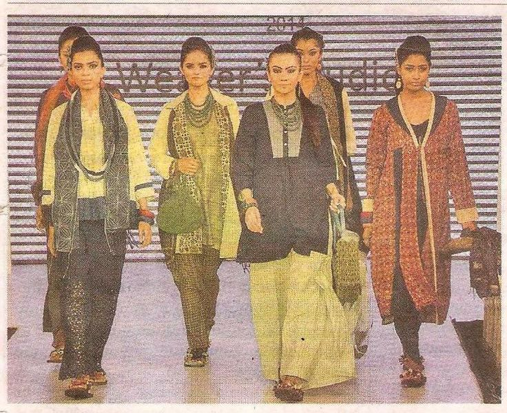 Weavers Studio collection at the fashion event