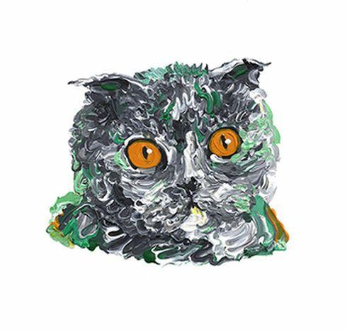 럼피범피랩/동물그림,동물초상화