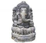 Black stone Ganesha