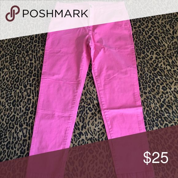Gap neon pink chinos size 6 Summer Easter Good condition. Perfect for spring  ask any questions feel free to ask any questions GAP Pants Straight Leg