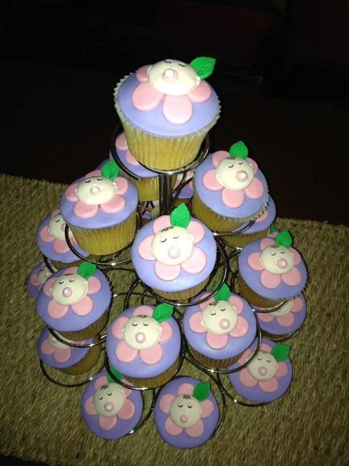 Sarah's Baby Shower cupcakes!