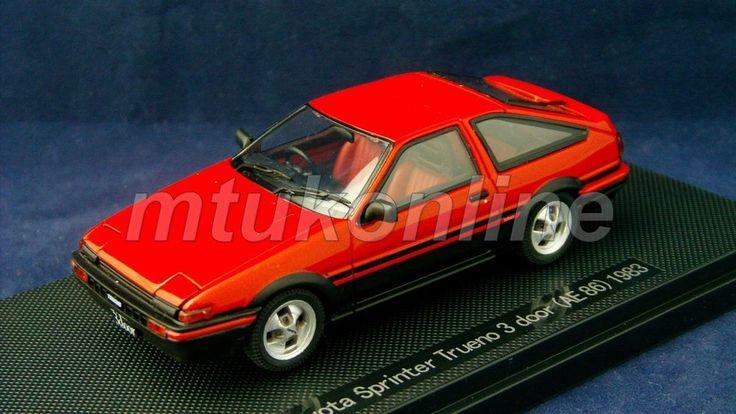 EBBRO 2007 | TOYOTA SPRINTER TRUENO AE86 1983 | 1/43 | OLDIES LIMITED EDITION