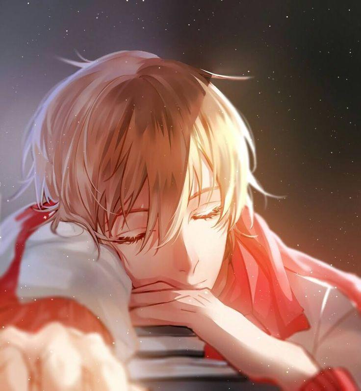 Cute sleeping guy  | He kind of looks like what I imagine Hearth from Magnus Chase looks like