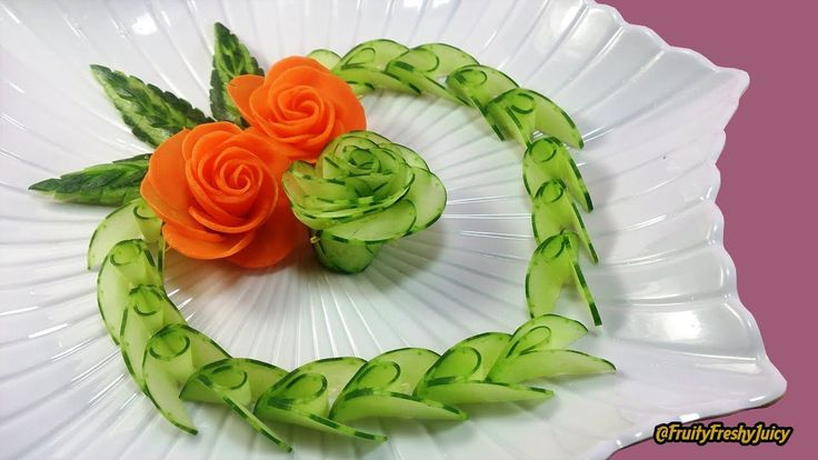 Best vegetable carving ideas on pinterest amazing