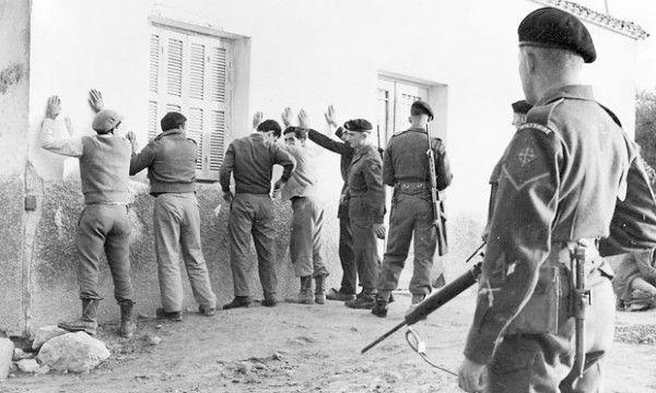 Έλεγχος Βρετανών στην εξεγερμένη Κύπρο
