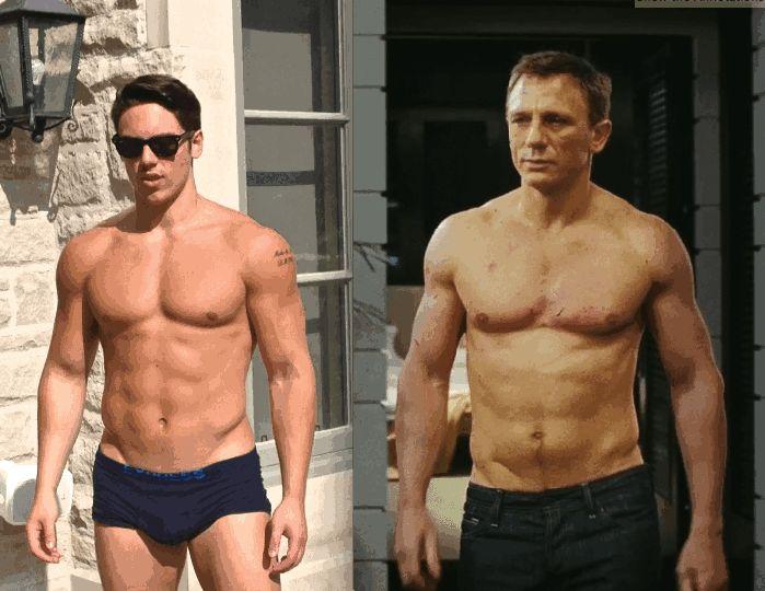 Daniel Craig Bond Workout for Skyfall