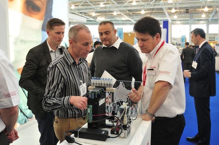 Norgren exhibiting at MEDTEC UK 2013