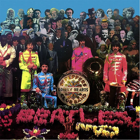 Sgt Pepper Cover shoot by Michael Cooper.