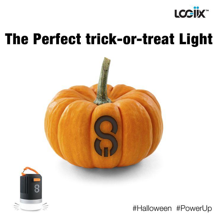The perfect trick-or-treat light! #Halloween #LED #flashlight #Beacon #PistonPower #LOGiiX