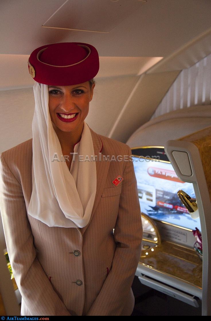 Emirates Cabin Crew #emirates #boeing #airbus #fly #aviation