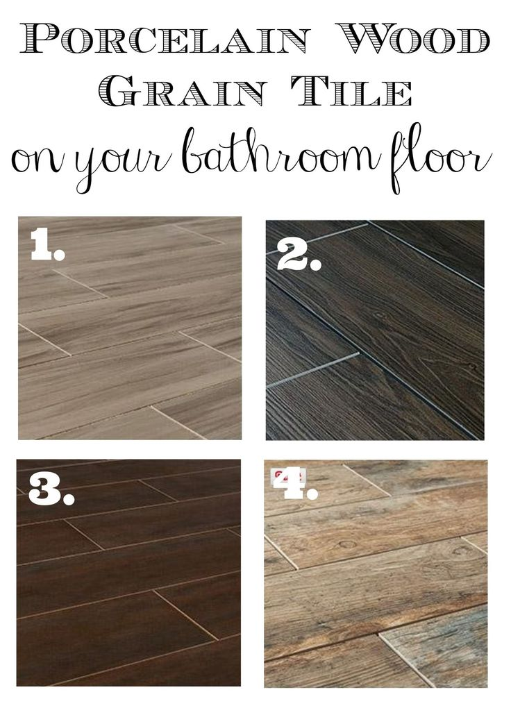 Wood Grain Tile and other bathroom tile ideas for a complete renovation of both guest and master bath!