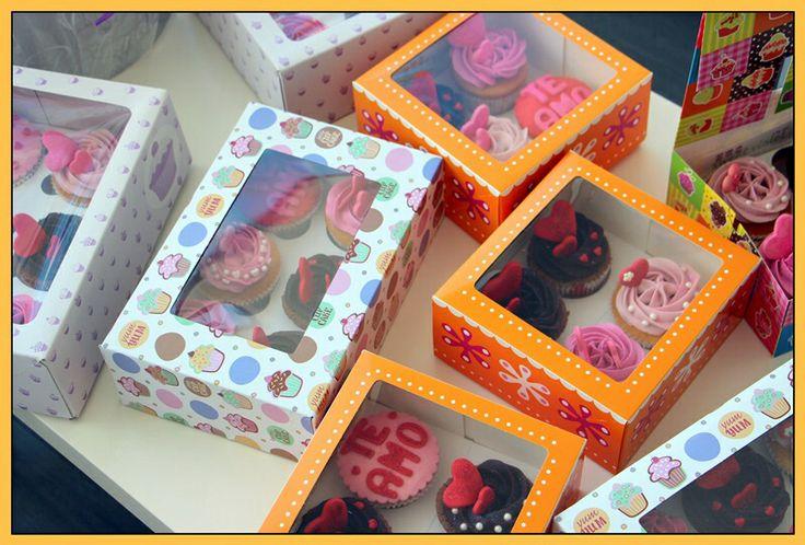 Cajas cupcakes
