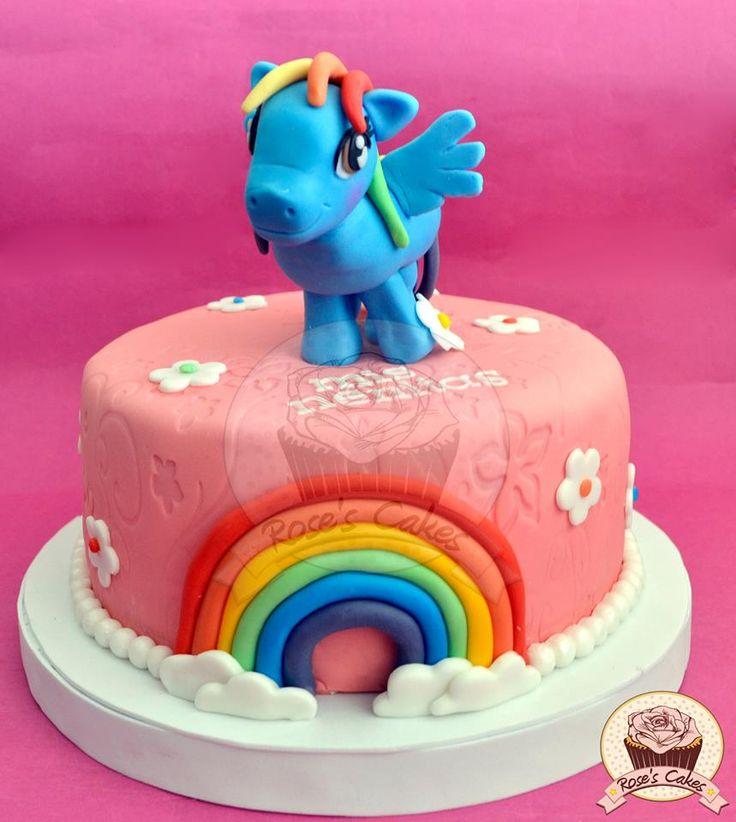 Torta My Little Pony #fondant #cake