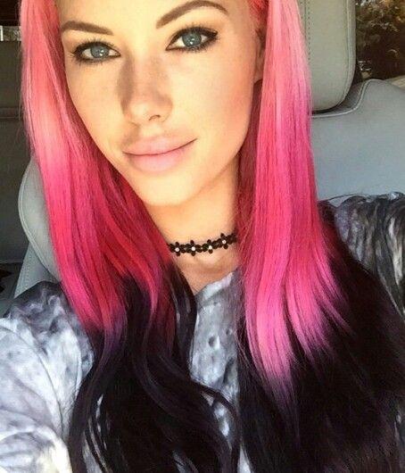 Pastel Pink Hair Dye On Black Hair