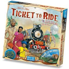 Our newest Ticket to Ride!