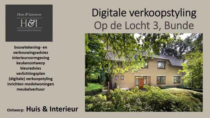 Digitale verkoopstyling villa Op de Locht 3 Bunde (Limburg)